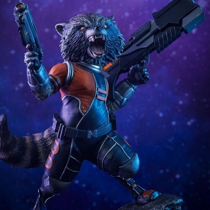 [파격 할인][SIDESHOW] 로켓라쿤 프리미엄 포맷 피규어( Rocket Raccoon Premium Format™ Figure by Sideshow Collectibles )