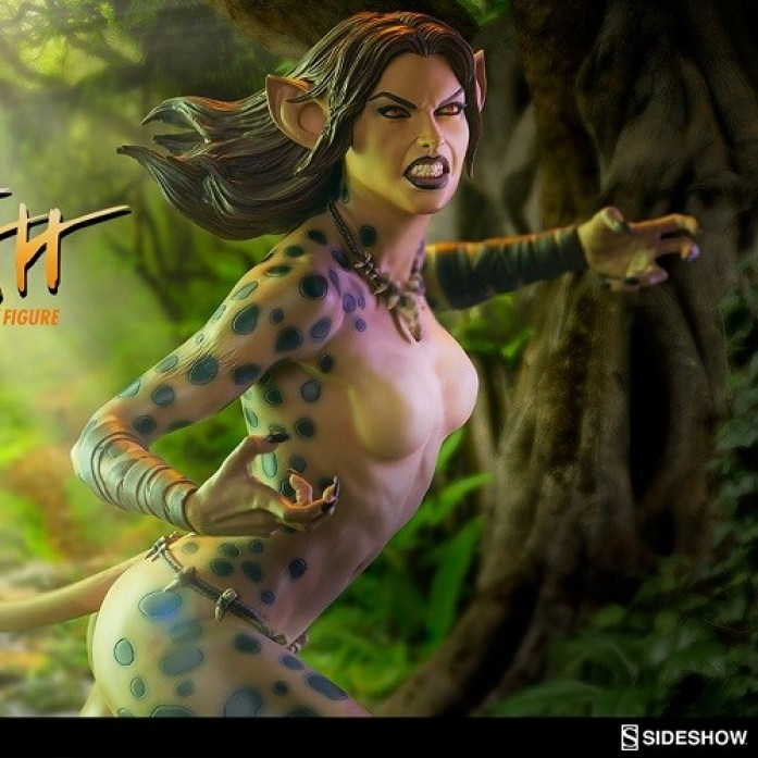 [파격 할인][SIDESHOW] 치타 프리미엄 포맷 피규어( Cheetah Premium Format™ Figure by Sideshow Collectibles )