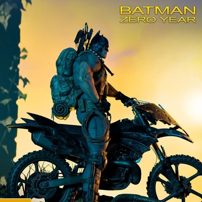 [예약상품][PRIME1 STUDIO] 배트맨 제로이어 스태츄 Batman Zero Year Statue by Prime 1 Studio [904597]